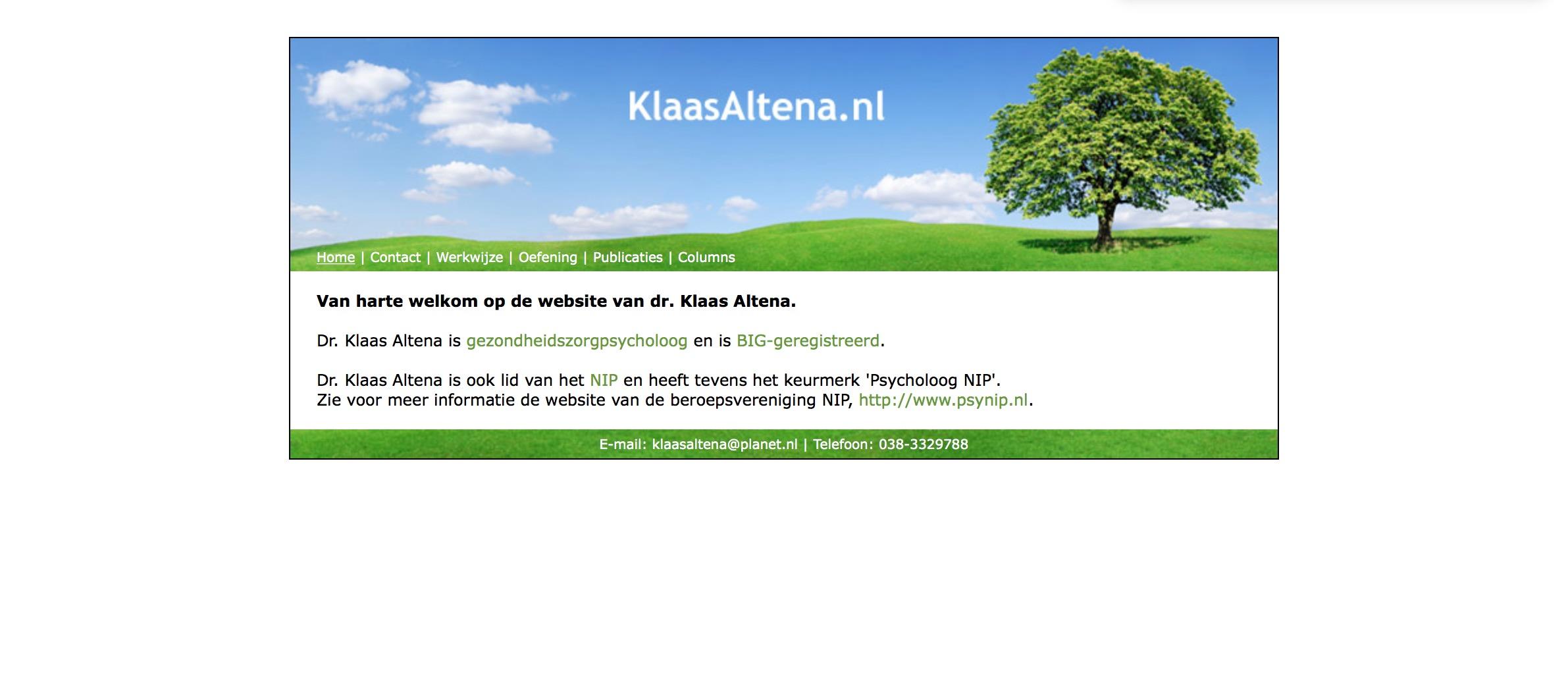 Klaas Altena